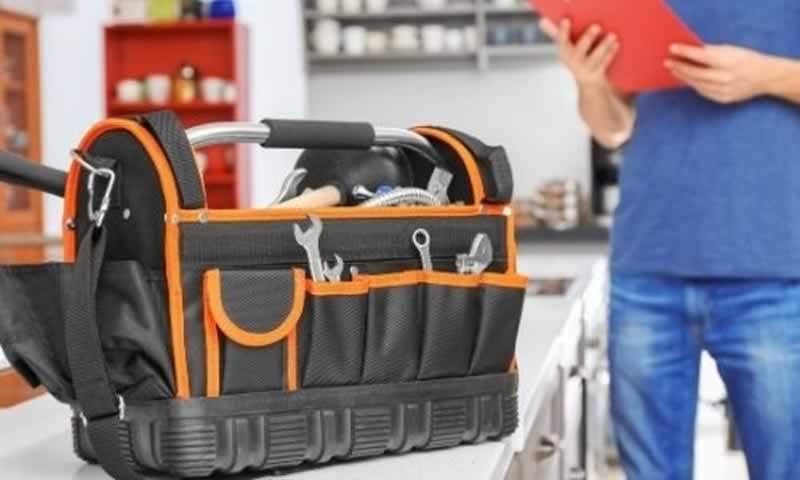 Plumbing Tool Bag Setup