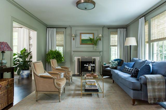 Remodeling Vintage Home - living room