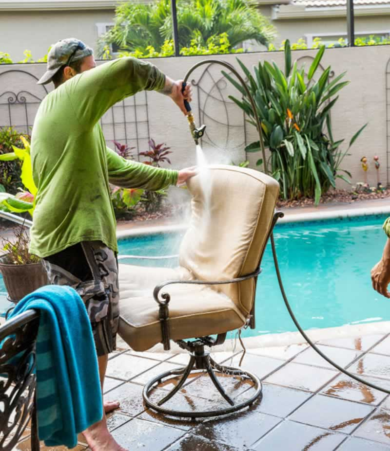 Simple DIY Cleaning Solutions For Your Outdoor Patio Furniture - cleaning