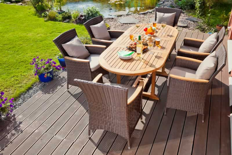 Simple DIY Cleaning Solutions For Your Outdoor Patio Furniture