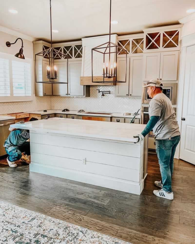 Six Home Remodeling Ideas on a Budget - replacing countertop