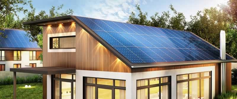 Tax Benefits of Solar Energy - solar panels on roof