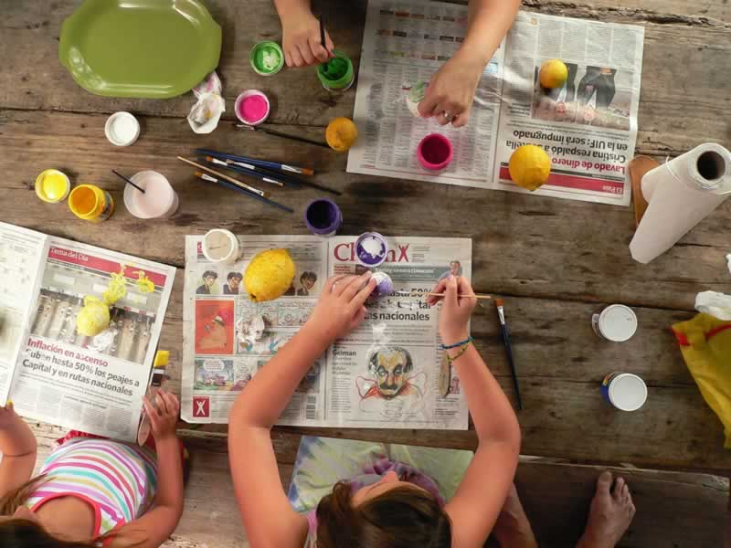 The positive effects of crafting in Covid times - crafting