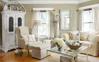Ways To Add A Vintage Touch To Your Home - living room