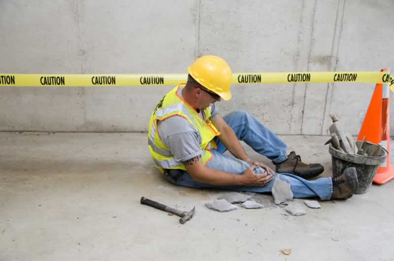 What are the causes of accidents on construction sites