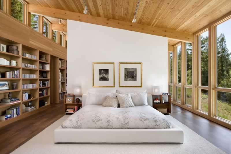 Wooden Home Decorating Tips - bedroom