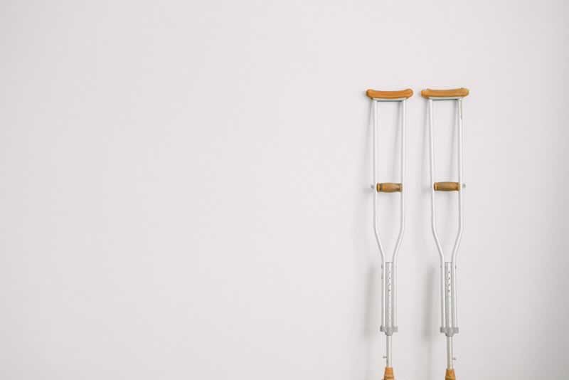 Your Easy 6-Step Guide To Filing A Personal Injury Claim - crutches