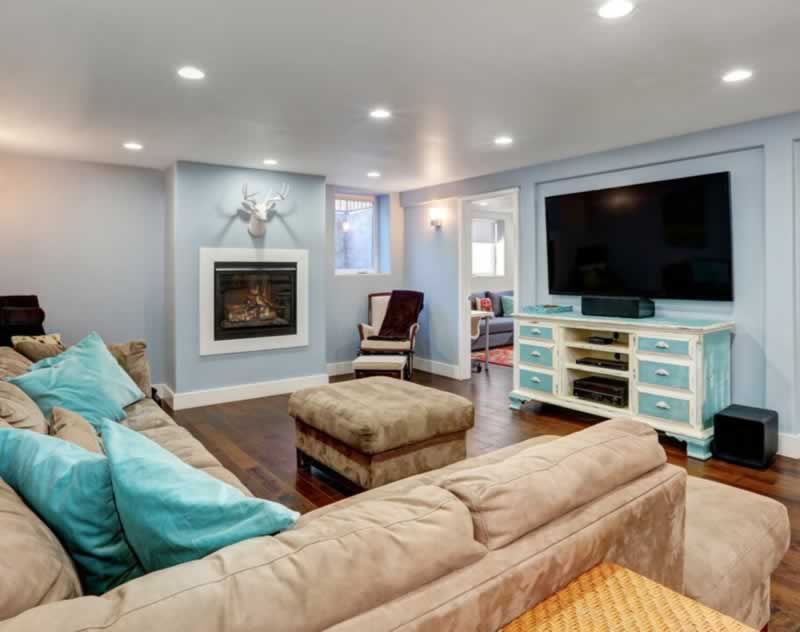 5 Ways That You Can Add Space to Your Basement - finished basement