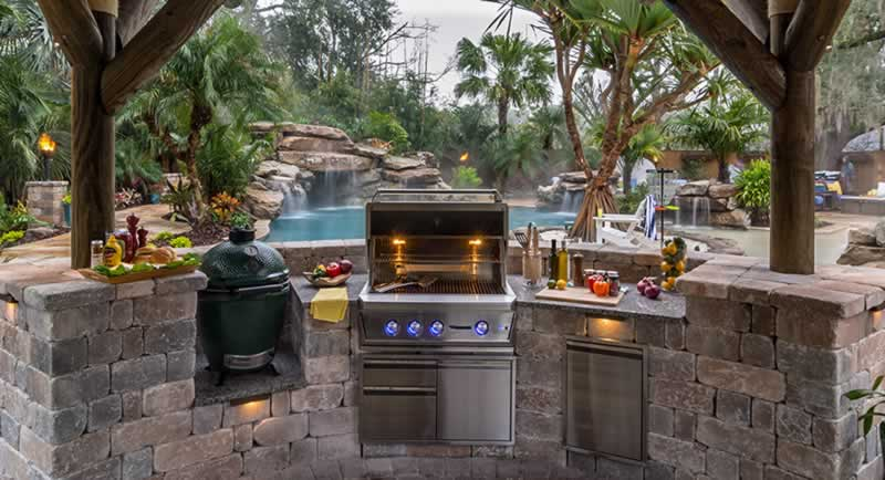 7 Joys Known Only to Those Who Are Fortunate Enough To Have an Outdoor Kitchen - kitchen