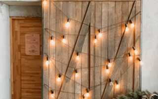 7 Unique Wood Home Decor Ideas - sliding barn doors
