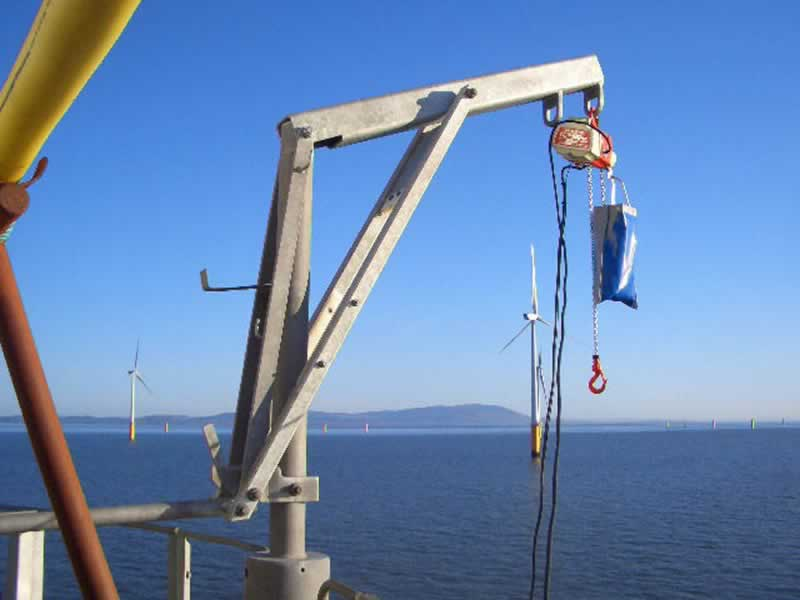 Benefits Of A Davit Crane For Construction And Other Similar Businesses - davit crane