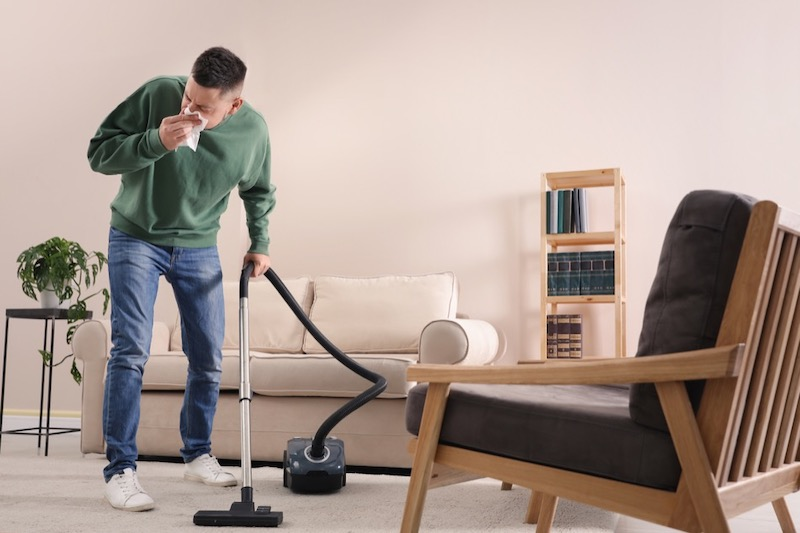 Home Cleaning Tips To Ease The Severity Of Allergies - cleaning