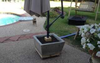 How To Make An Umbrella Stand - umbrella stand