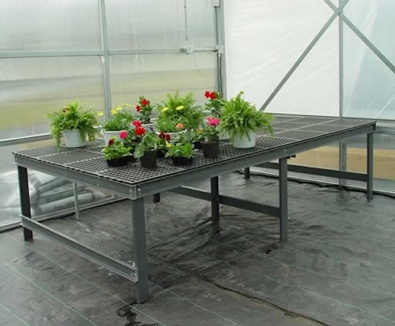 How to Find Suitable Greenhouse Benches - benches