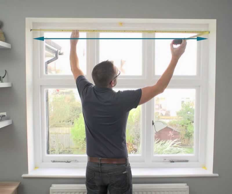 How to Measure for Replacement Windows - measuring