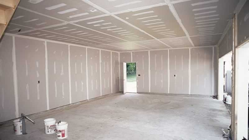 How to Select the Right Drywall for Your Garage - drywall