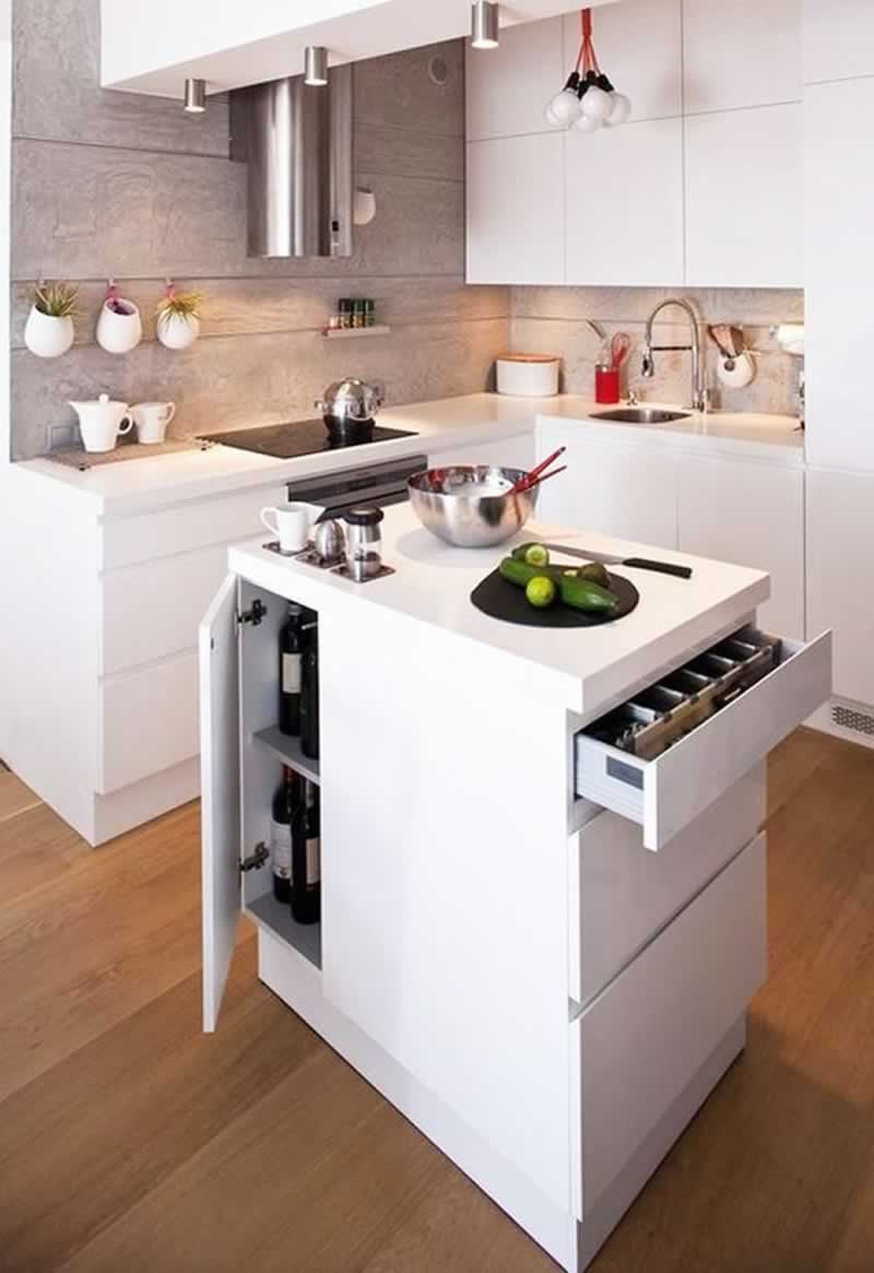 Living With a Small Kitchen - small kitchen