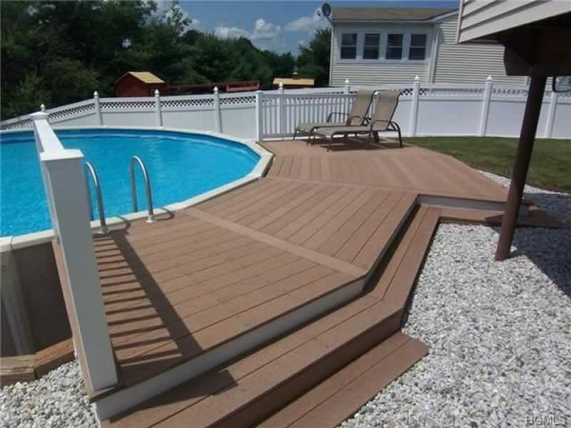 Pool Decking 101 - above ground pool