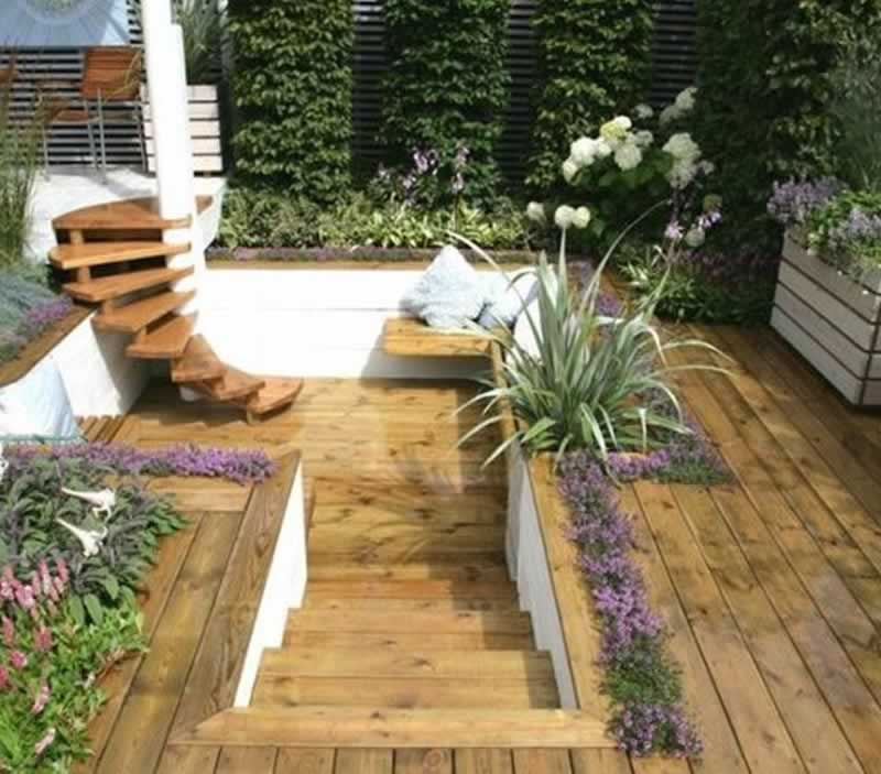 The Benefits of Wood in Landscaping - wooden deck