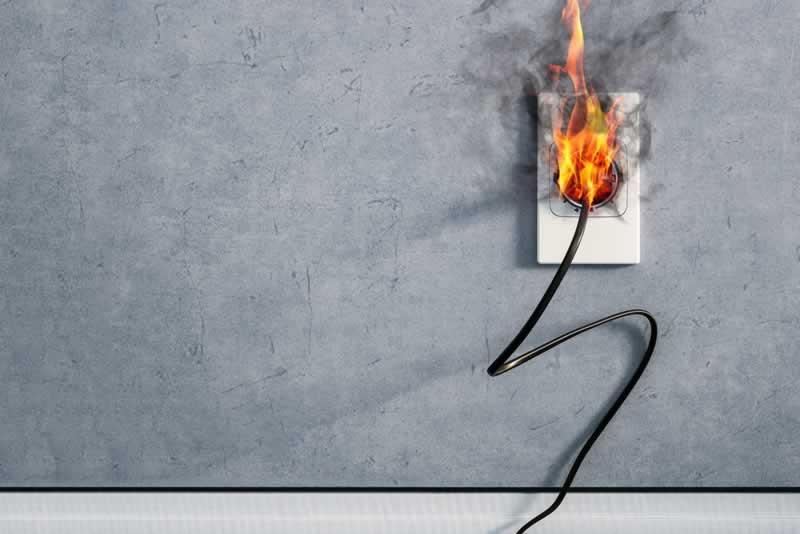 Understanding & Implementing The Best Defense Against Fires - electrical fire
