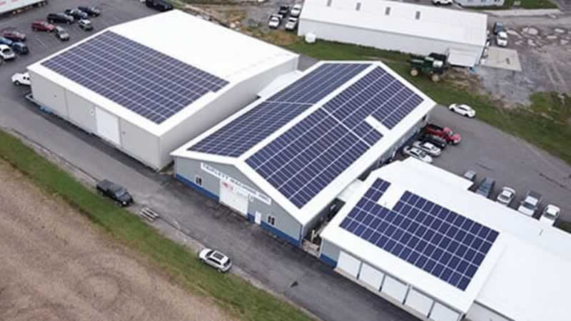 What Are the Benefits of Solar Power to Business - building