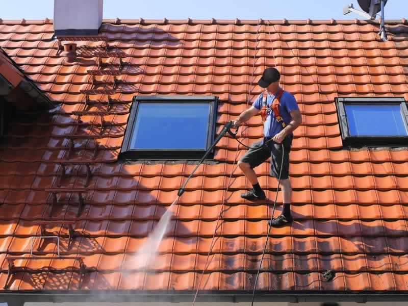 What Can I Do to Maintain My Roof - cleaning
