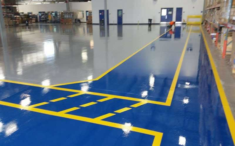 What Types of Paint to Use For Industrial Flooring