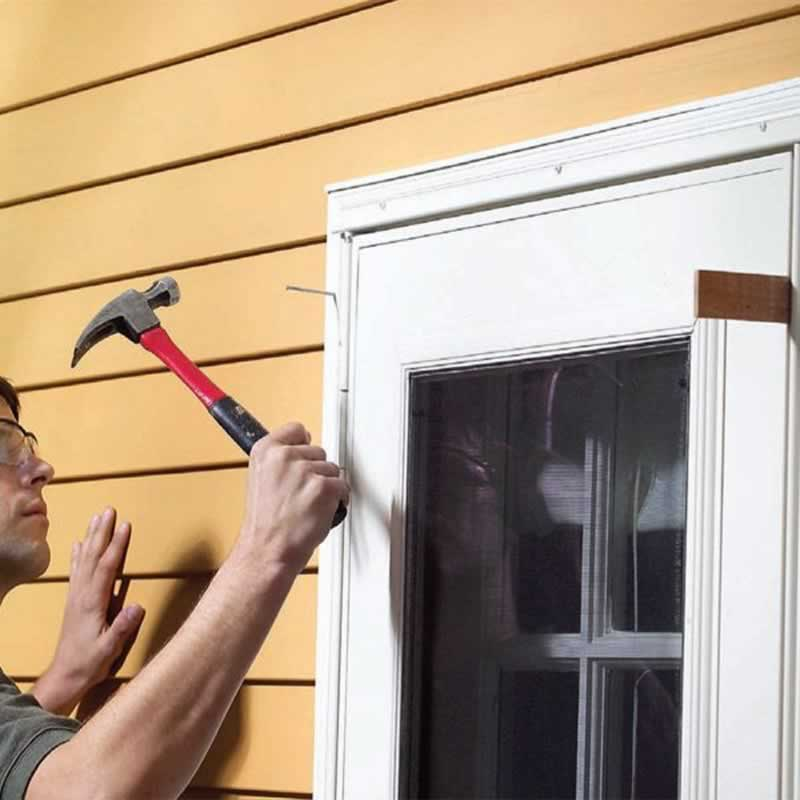 13 Repairs you need to Make at Home this Summer - storm door