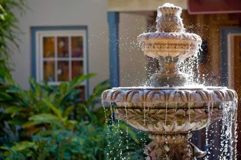 6 Basic Steps To Keep Your Outdoor Fountain Water Clean - fountain