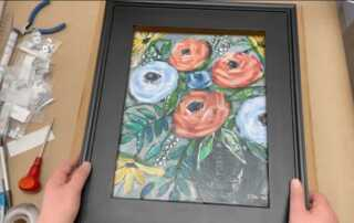 A Step by Step Guide on Framing Canvas Art