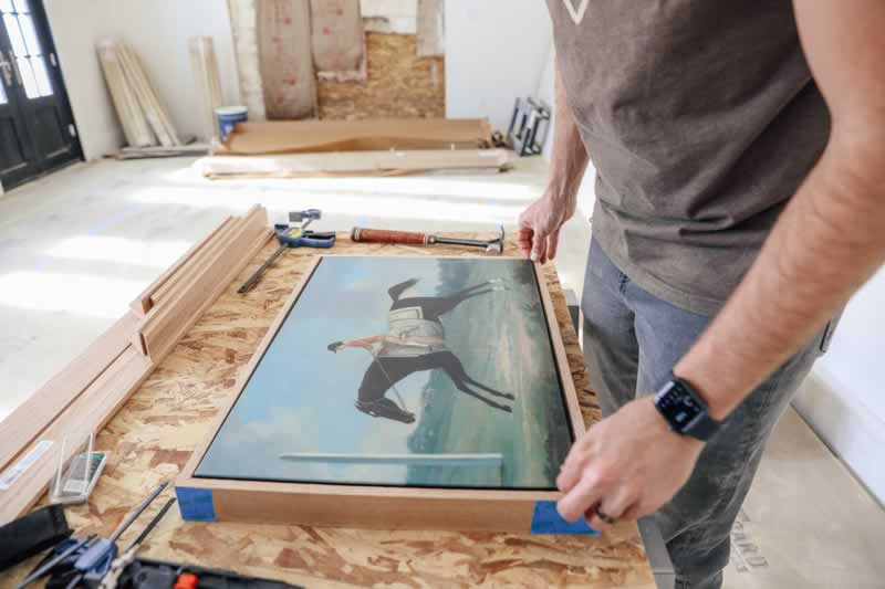 A Step by Step Guide on Framing Canvas Art - framing