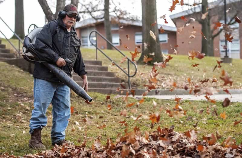 Are Leaf Blowers a Threat to Your Car - leaf blower