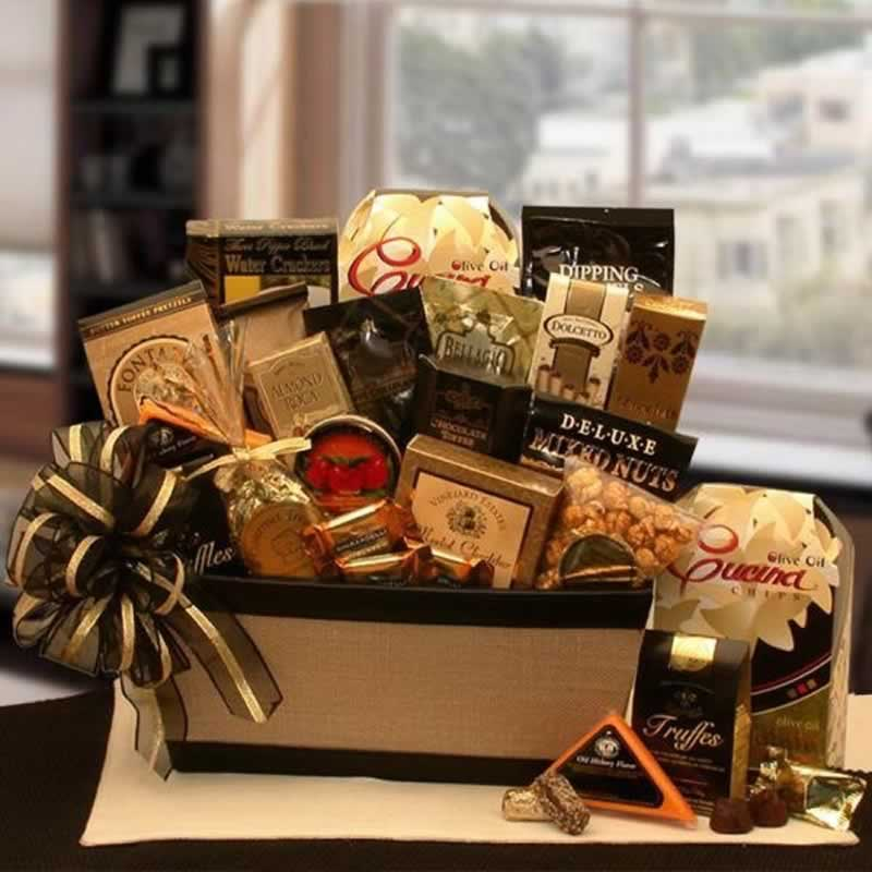 Best 2021 Christmas Gifts for employees - swag basket