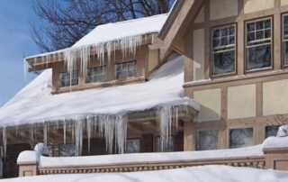 Best Roof Designs for Houses to Withstand the Winter - ice