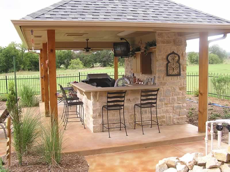 Building an Outdoor Kitchen - nice kitchen