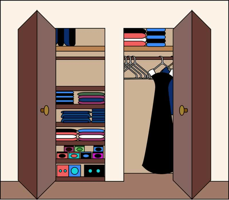 Custom Walk-In Closets Mistakes to Avoid - closet