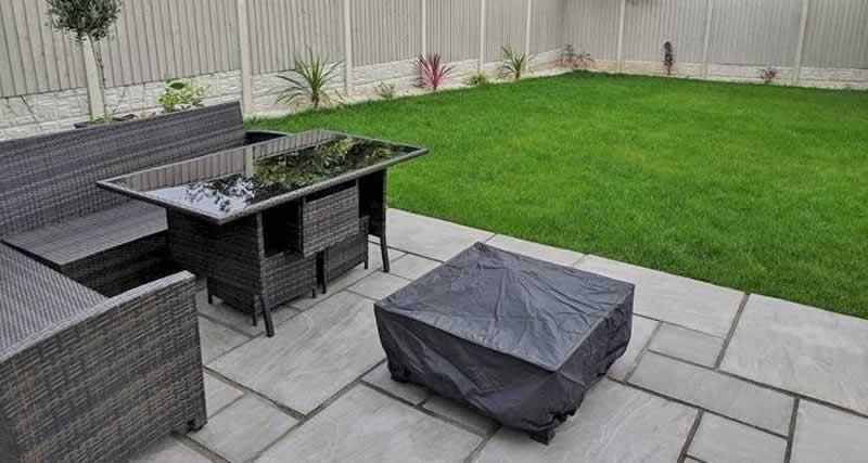 Effective ways to utilise concrete in the garden - patio
