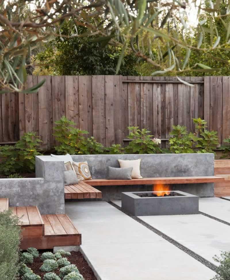 Effective ways to utilise concrete in the garden