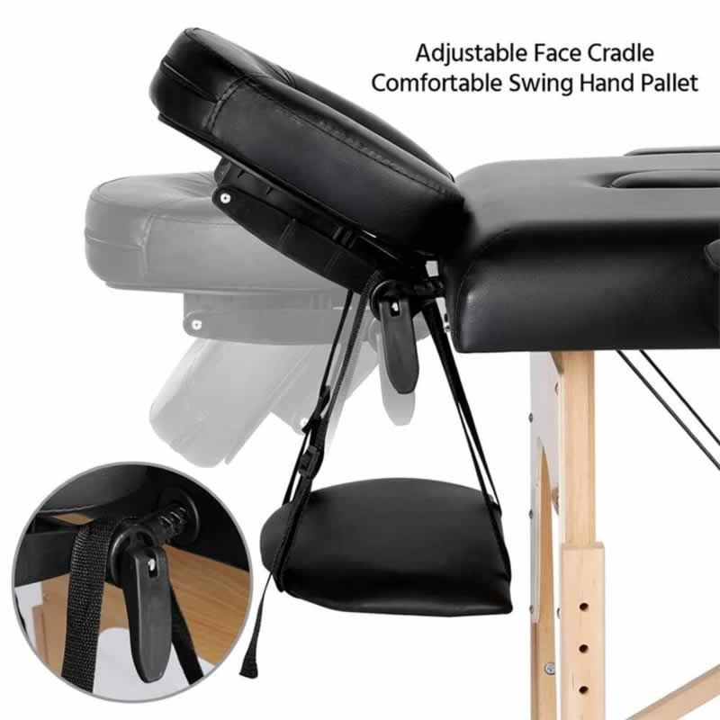 How To Choose A Portable Massage Table - adjustable face cradle