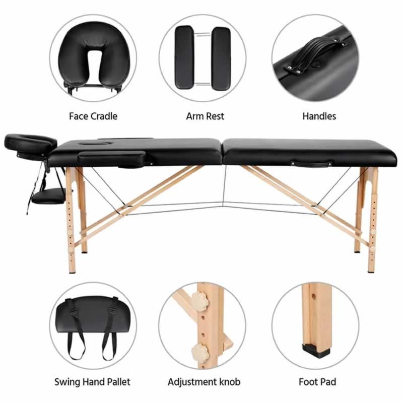 How To Choose A Portable Massage Table - parts