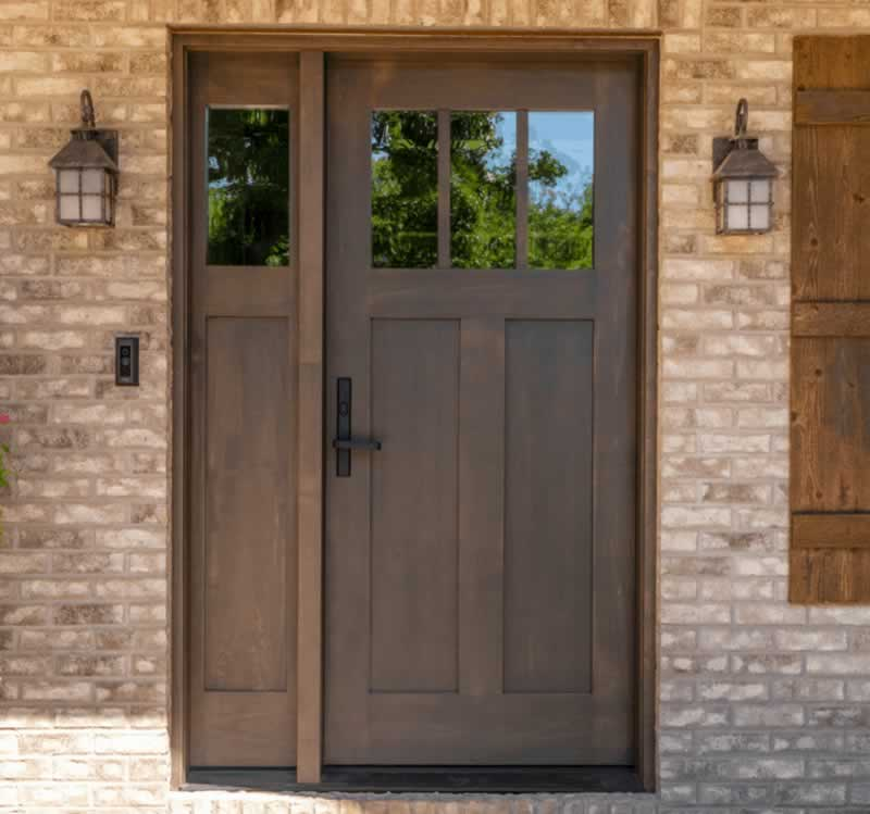 How To Choose The Best Exterior Door Companies In Baldwin - wood door