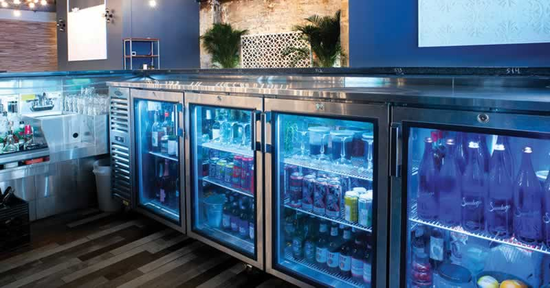 How to Mount a Countertop Over a Bar Back Cooler - coolers