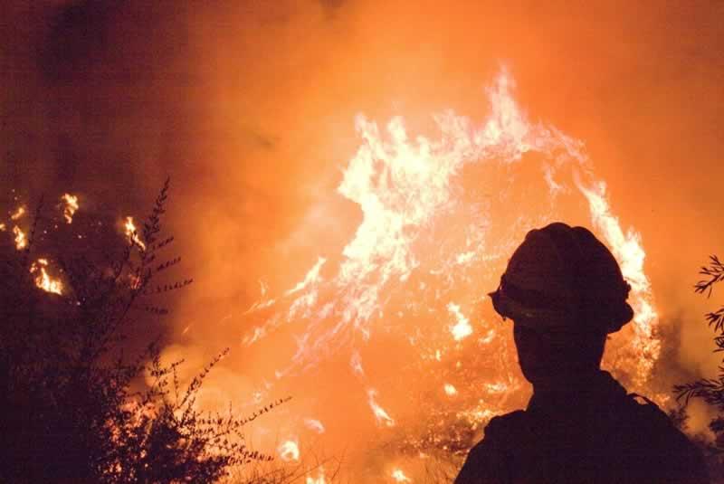 Major Fires in San Diego - cedar fire