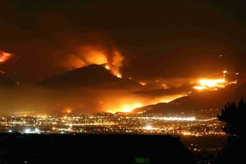 Major Fires in San Diego