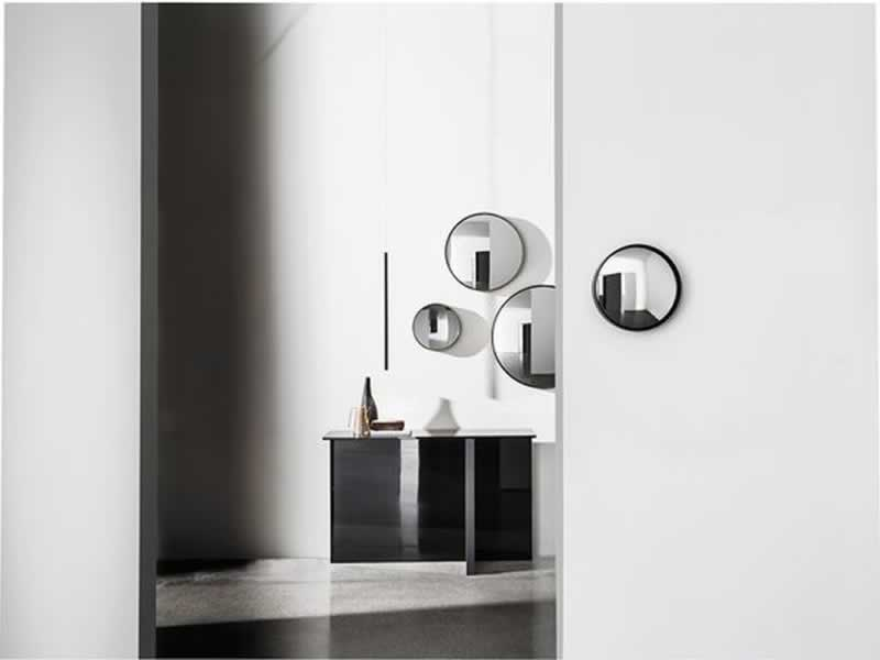 Tips for using a mirror as an interior's element - panels