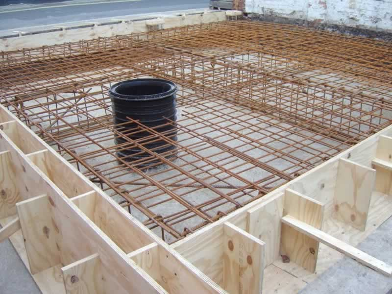 What is Concrete Formwork - timber formwork