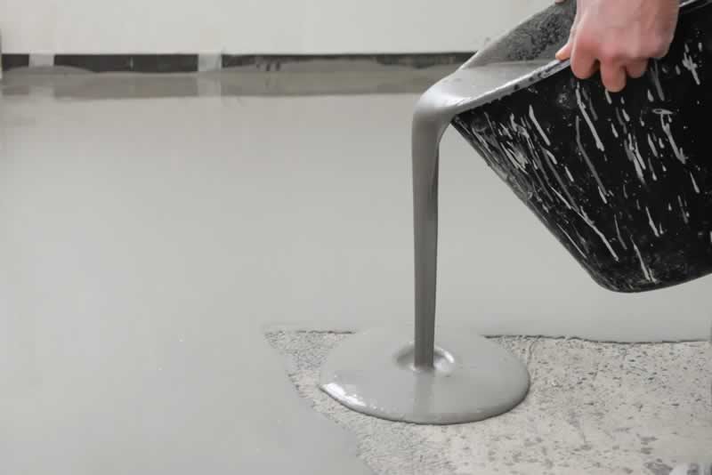 Advantages of Epoxy Floor and Hiring the Right Contractors - pouring resin