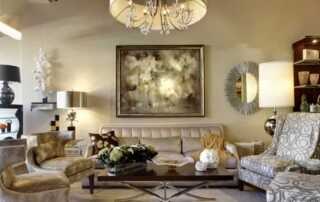 Fresh and New French Home Decor Ideas - living room