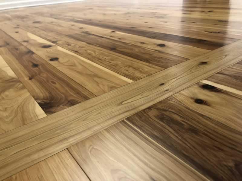 Hardwood floors - cypress