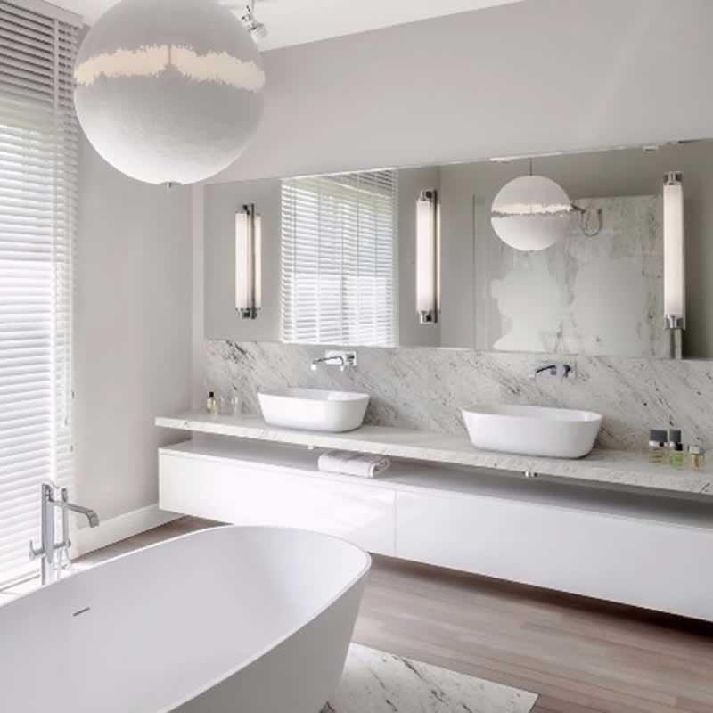 A fürdőszoba felszerelése - könnyű